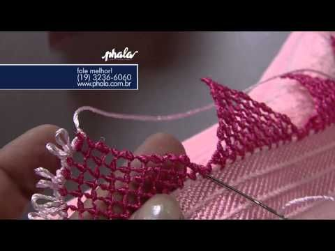 Mulher.com 14/08/2013 Valquiria Campanelli - Acabamento de Renda Frape P 2/2 - YouTube
