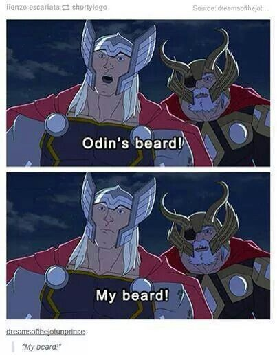 Odin's beard