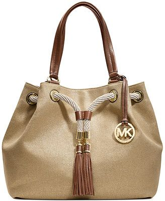 MICHAEL Michael Kors Handbag, Marina Large Gathered Tote *****also comes in orange and blue