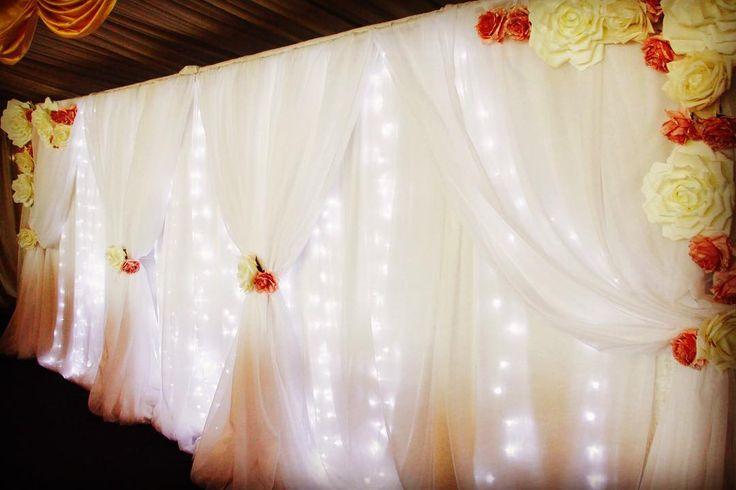 We love creating these stunning backdrops. #eventstyling #backdrops #wedding #weddingstyle #weddingseason2016 #happilyeverdegun