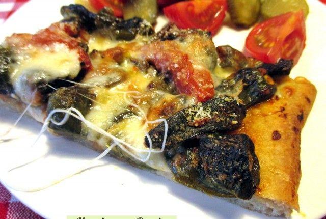 Pizza provola e peperoncini verdi dolci, Mangia senza Pancia