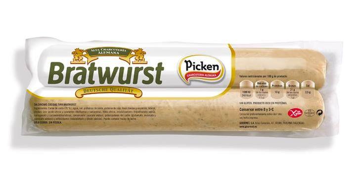 Otra variedad #Picken para las noches de #barbacoa #cinesdeverano #cenasdesobaquillo. La Weißwurst es una salchicha de origen alemán muy consumida en Baviera. Se elabora con carne muy finamente picada de ternera y de cerdo junto con especias. Esta salchicha suele acompañarse con cerveza y un poco de mostaza dulce al estilo de Baviera. Como casi todas las salchichas blancas alemanas se sirve cocida.