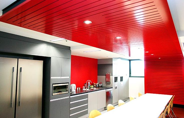 perforated ceiling and wall 2 pac poly paint by  keystone