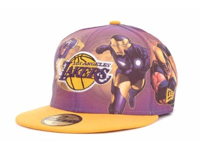 Tyson L.A. Lakers hat