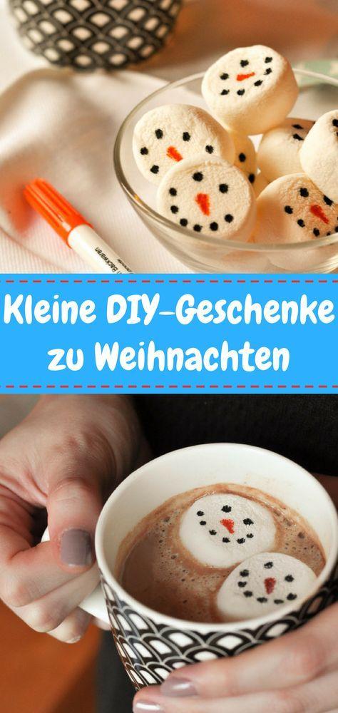 Sucht ihr noch ein kleines Last Minute Weihnachtsgeschenk für den Kindergarten? Oder für einen anderen lieben Menschen? Diese lustigen Schneemann-Marshmallows sind in nur wenigen Minuten gemacht und ein tolles Geschenk aus der Küche! So macht heiße Schokolade trinken gleich noch mehr Spaß!