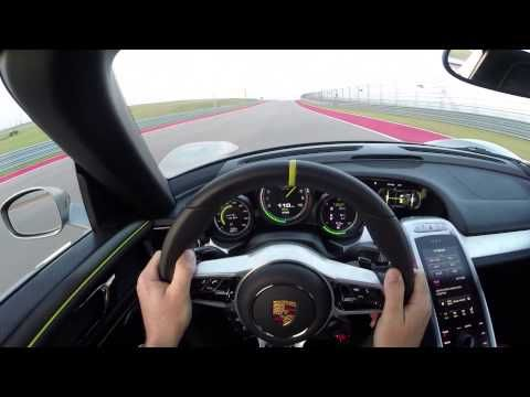 Porsche Releases 918 Spyder POV Video, Says It Beats The Prius Plug-In For EV Range