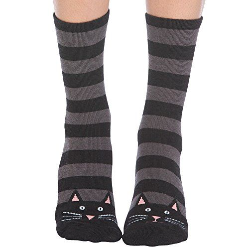 Non-skid Red Slipper Socks by Foot Traffic,One Size,Cat Foot Traffic http://www.amazon.com/dp/B00NO157MS/ref=cm_sw_r_pi_dp_h1sswb14ZMP8M: