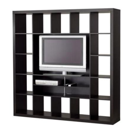 ikea expedit tv stand bookshelf black matt and chris pinterest crafts tvs and furniture. Black Bedroom Furniture Sets. Home Design Ideas