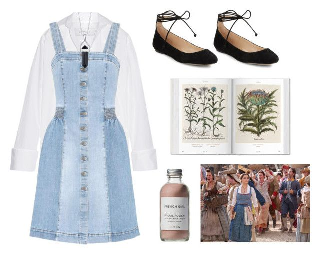 """français"" by diamondslutt ❤ liked on Polyvore featuring Marques'Almeida, STELLA McCARTNEY, Bridge Jewelry, Karl Lagerfeld, French Girl, Disney, 22, BeautyandtheBeast and contestentry"