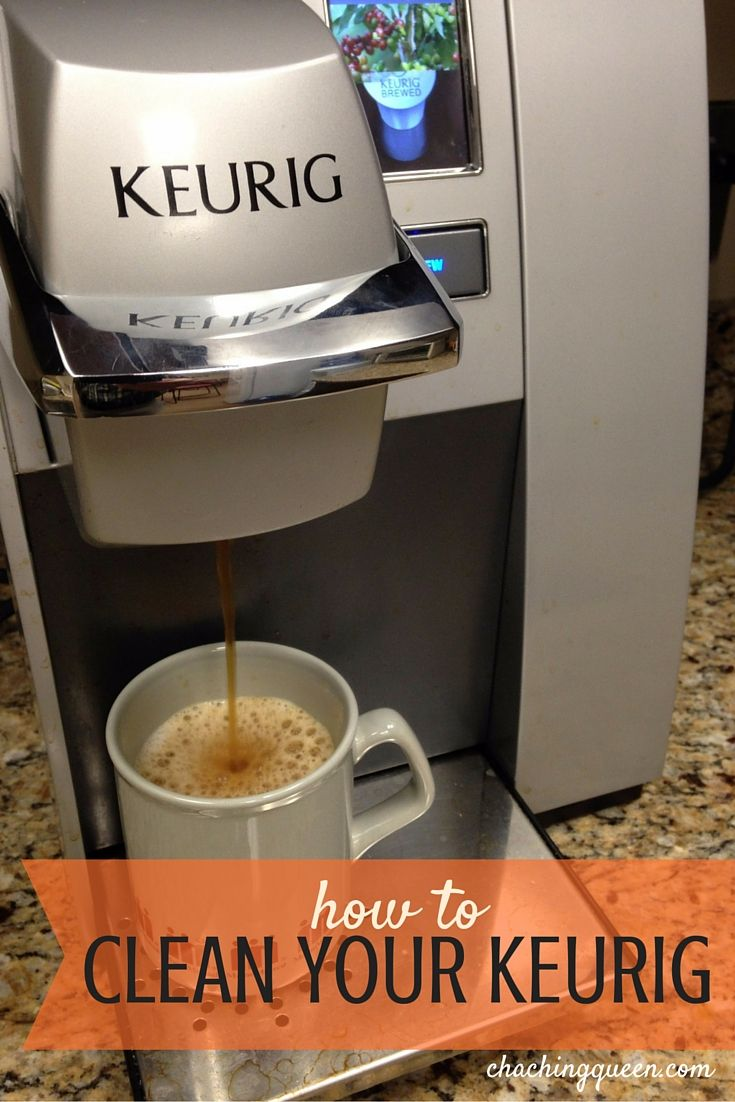 I use my Keurig a lot.  It looked clean, but I didn't want to be drinking any mold or bacteria. There are lots of parts to Keurigs and I wanted to make sure I had coffee or tea and not unwanted grime in my cup. I did some research and found an easy and quick way to clean my Keurig.