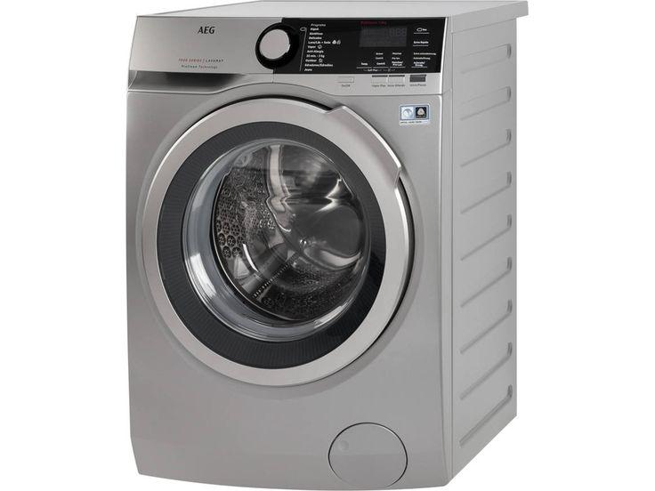 Compre a Máquina de Lavar Roupa AEG L7FEE842S em Inox, com capacidade de 8 Kg, classe energética A+++ e velocidade de centrifugação até 1400 rpm em Worten.pt