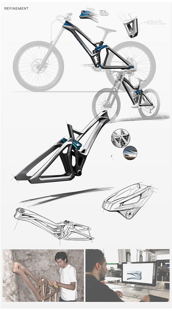 Mondraker Summum Carbon on Industrial Design Served