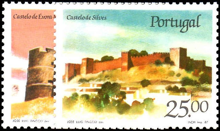Portugal 1987 Castles (4th series).