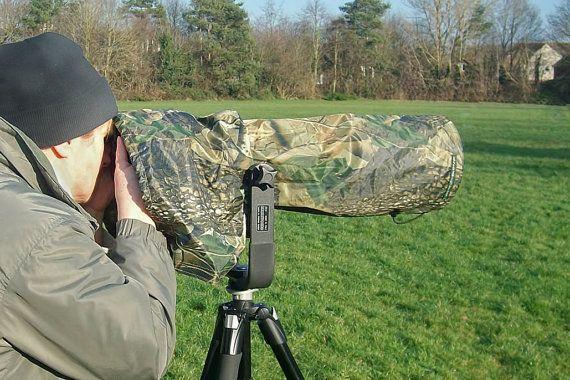 Waterproof Canon 500 mm F4  Camera and Lens Rain by GrazinasDesign