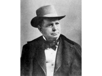 Oliver Fisher Winchester was the son of Samuel Winchester and Hannah Bates.  Winchester was known for manufacturing and marketing the Winchester repeating rifle, which was a much re-designed descendant of the Volcanic rifle of some years earlier. Winchester started as a clothing manufacturer in New York City and New Haven, Connecticut. He is also know as was an American businessman and politician.