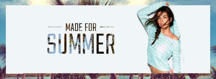 This social media banner has a feminine design which is shown by the model. I think the way the background image is only seen in small portions is interesting and well done. Also you can clearly tell what product is being marketed. The way the text is actually the background image is something that will influence me when I design my banners.