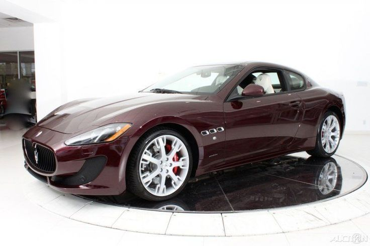 This #Maserati Gran Turismo is serious #carporn and up for auction. How much? Click on the image to find out... #spon