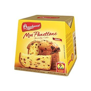 Image result for mini panettone bauducco  ( 1 is perfect for Bread Pudding for 2 recipe. Delicious! EL)