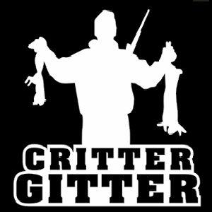 Critter Gitter Rabbit Decal VH0009 Vinyl Truck Window Stickers - Wildlife Decal