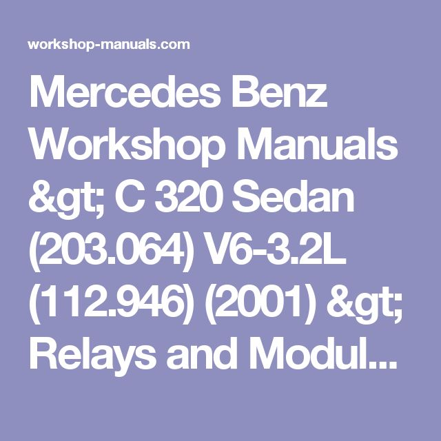 Mercedes Benz Workshop Manuals > C 320 Sedan (203.064) V6-3.2L (112.946) (2001) > Relays and Modules > Relays and Modules - Accessories and Optional Equipment > Central Control Module > Component Information > Technical Service Bulletins > All Technical Service Bulletins: > LI58-40_P-048053 > Sep > 09 > Computers/Controls - DAS Software Update > Page 12