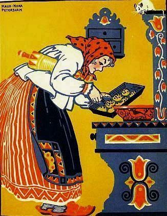forgot about this book until I stumble upon it today. 1924 1st Ed 'The Poppy Seed Cakes' Russian Folk Tales - Maud & Miska Petersham