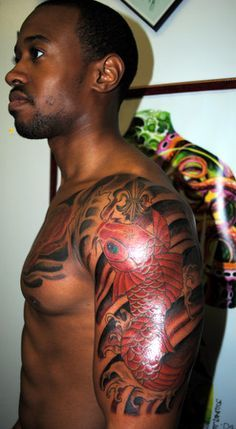 25 best ideas about dark skin tattoo on pinterest wolf for Brown tattoo ink cover up