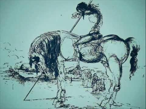 """ABRIL 2015. Con motivo del IV Centenario de la Segunda Parte del Quijote, leemos el poema """"VENCIDOS"""", DE LEÓN FELIPE, que trabajamos con 1º de ESO en el taller sobre la caballería andante."""