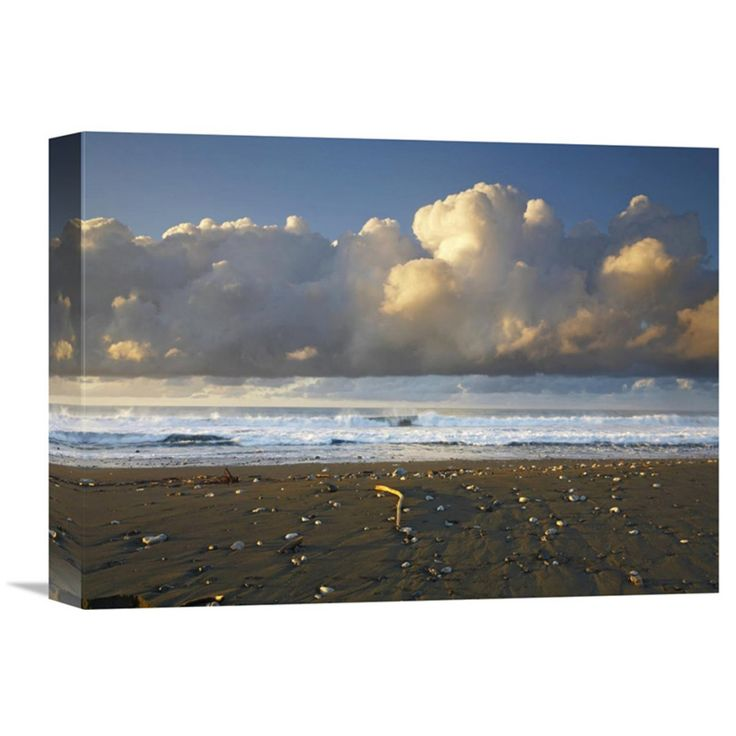 Global Gallery Beach and Waves Corcovado National Park Costa Rica Canvas Wall Art - GCS-396366-1216-142