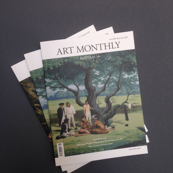 Art Monthly Australia Journal - November 2015 issue