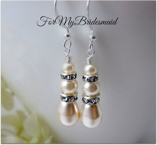 beads swar pear cream eureka shaped swarovski pearls crystal