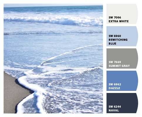 Oceanic color palette