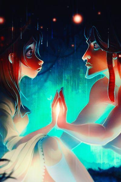 ...O meu mundo vou te mostrar, tanta vida e tanta cor, nesse mundo mergulhar só você e eu...