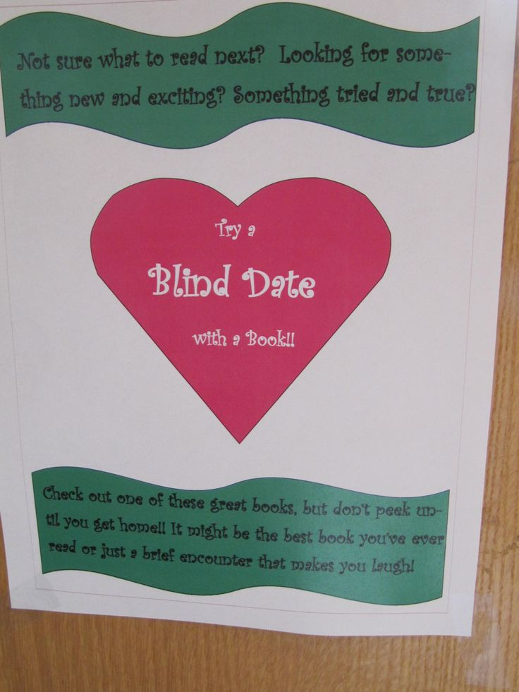 Blind Date with  a book (December 2013)