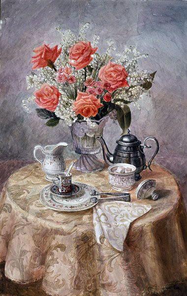 Виктория Кирьянова. Нежные розы