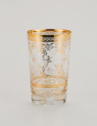CHAI glass guld | Drinkware | null | Glass and Porcelain | Interior | INDISKA Shop Online