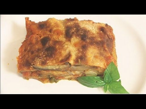 Bakłażany zapiekane z parmezanem(melanzane alla parmigiana)