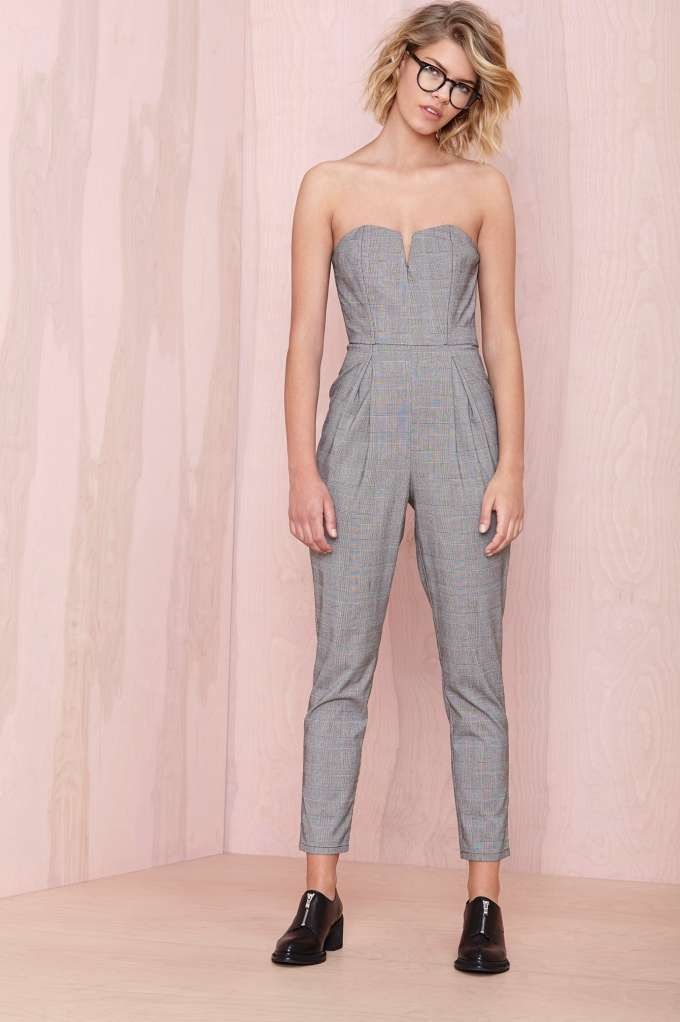 School Ties Jumpsuit