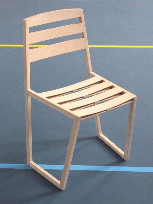 Aerowing Flywood Chair By Egbert Jan Lam