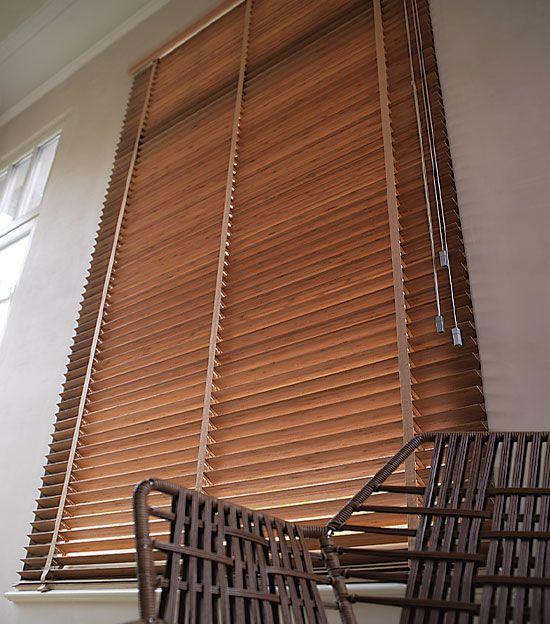 M s de 1000 ideas sobre cortinas venecianas en pinterest - Cortinas de madera enrollables ...
