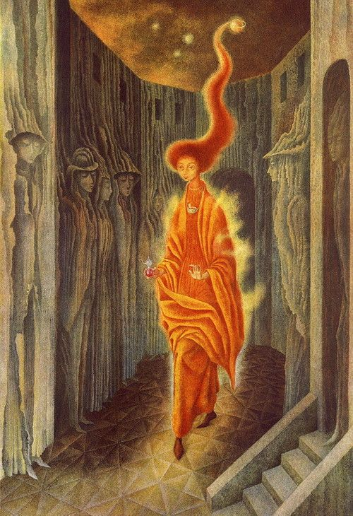 La Llamada (The Call) , 1961, by Remedios Varo