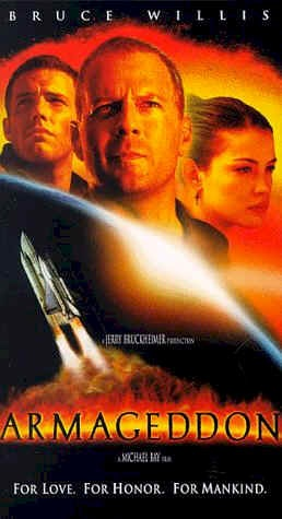 Armageddon - love this movie but it gets me every time