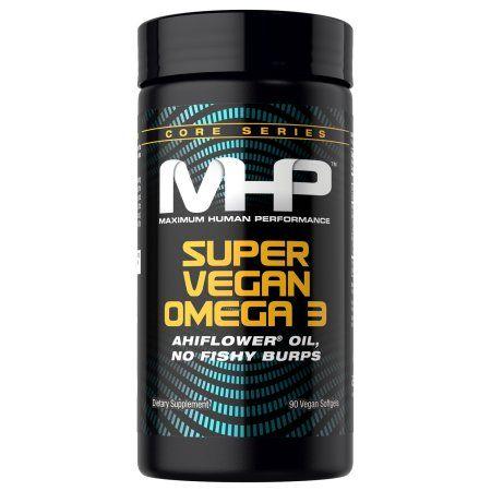 MHP Super Vegan Omega-3 Capsules, 90 Ct