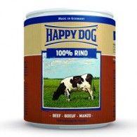 Happy Dog Rind Pur - Marhahúsos konzerv 6 x 800g