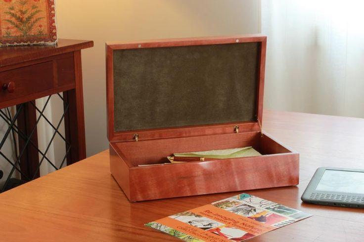 Buy Tamar Tiger-Myrtle Box Online | Australian Woodwork | Australian Woodwork