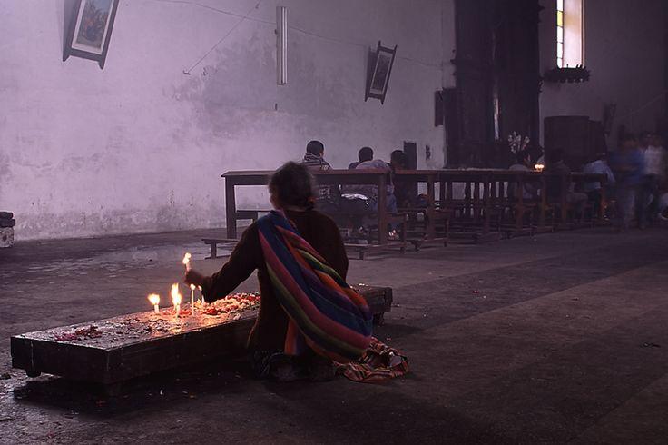 Inside - Chichicastenango, Huehuetenango- Guatemala