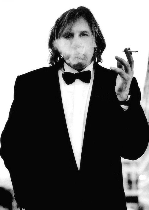 Gérard Depardieu by Anton Corbijn