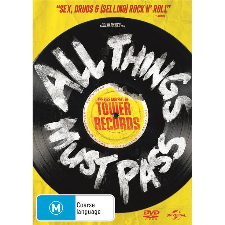 All Things Must Pass: The Rise & Fall Of Tower Records