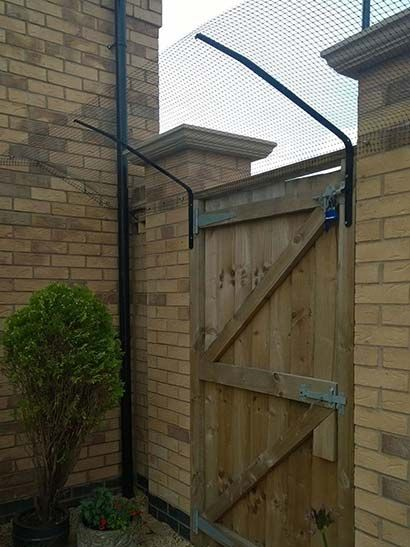 Cat Proof Gate