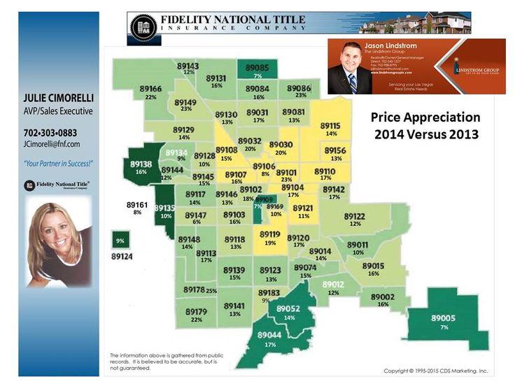 Las Vegas Price Appreciation 2014 Versus 2013 702 540 1327 Check Out The Las