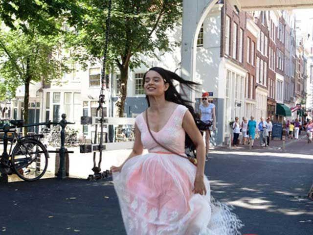 National Awards: Kangana Ranaut Wins Best Actress, Queen is Best Hindi Film - https://twitter.com/desaikillol/status/583857138021363712